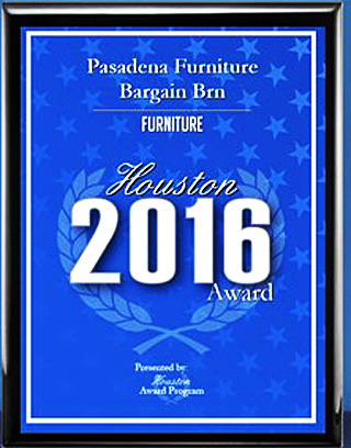Awarded as best           furniture store in Houston